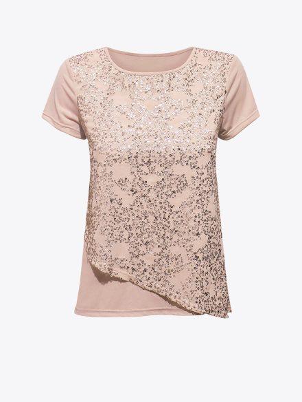 Majica Nude Pink-0